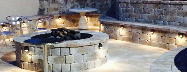 Pavers and Fire Pits